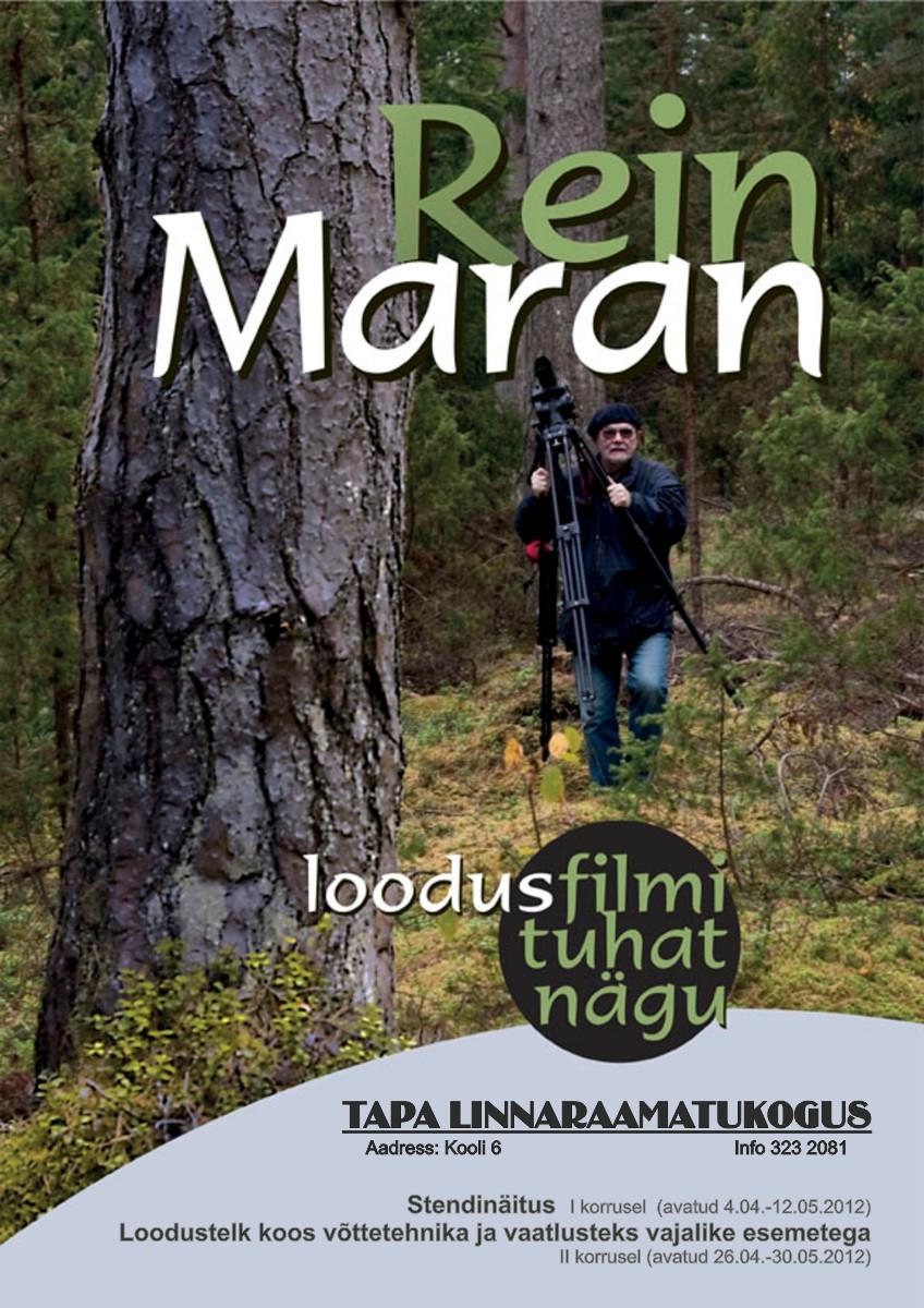 """Rein Maran — """"Loodusfilmi tuhat nägu"""""""