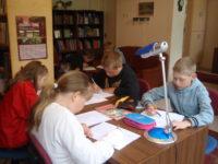 Jäneda raamatukogu õppehoones