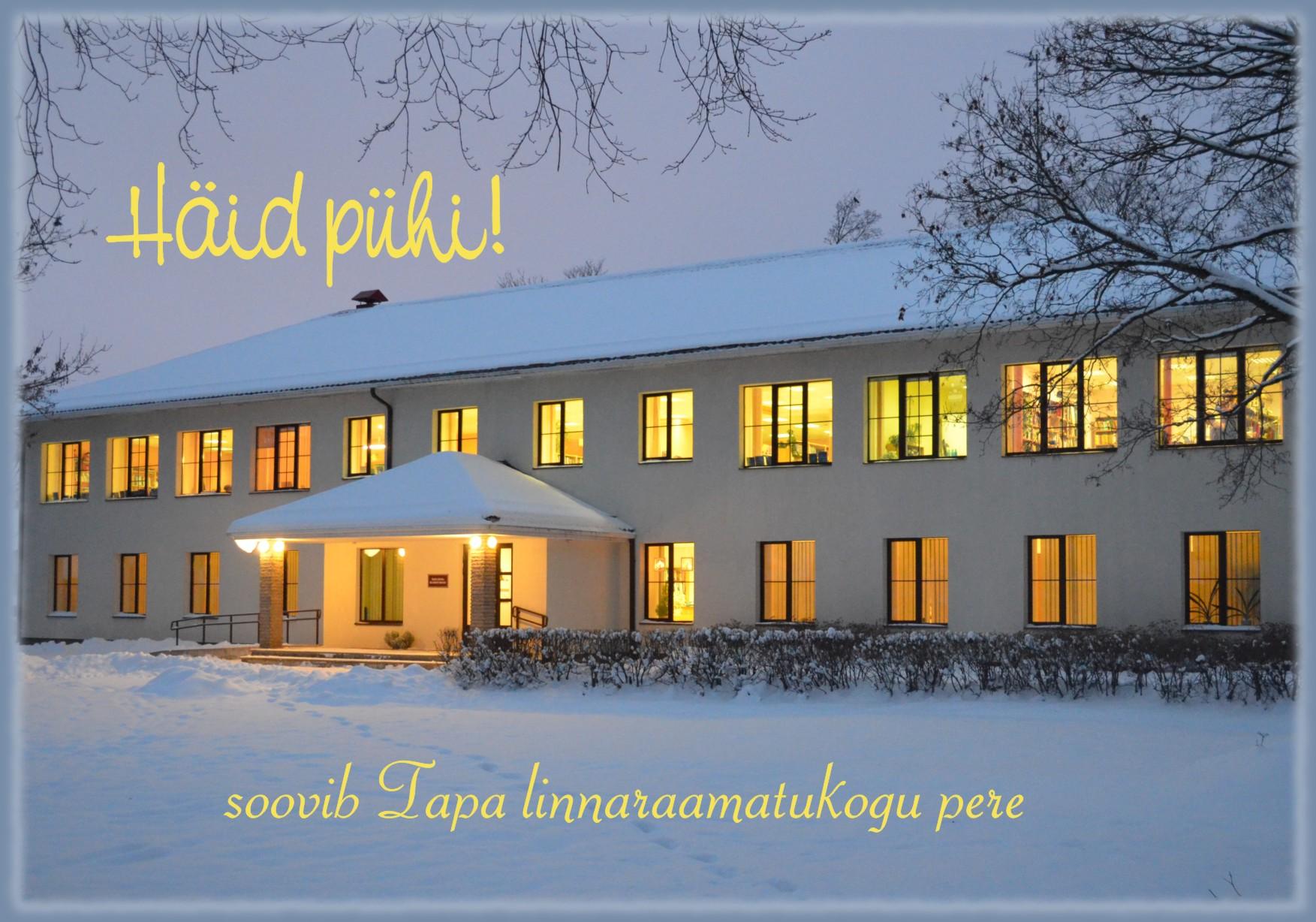 Rõõmsaid pühi ja meeleolukat aastavahetust!