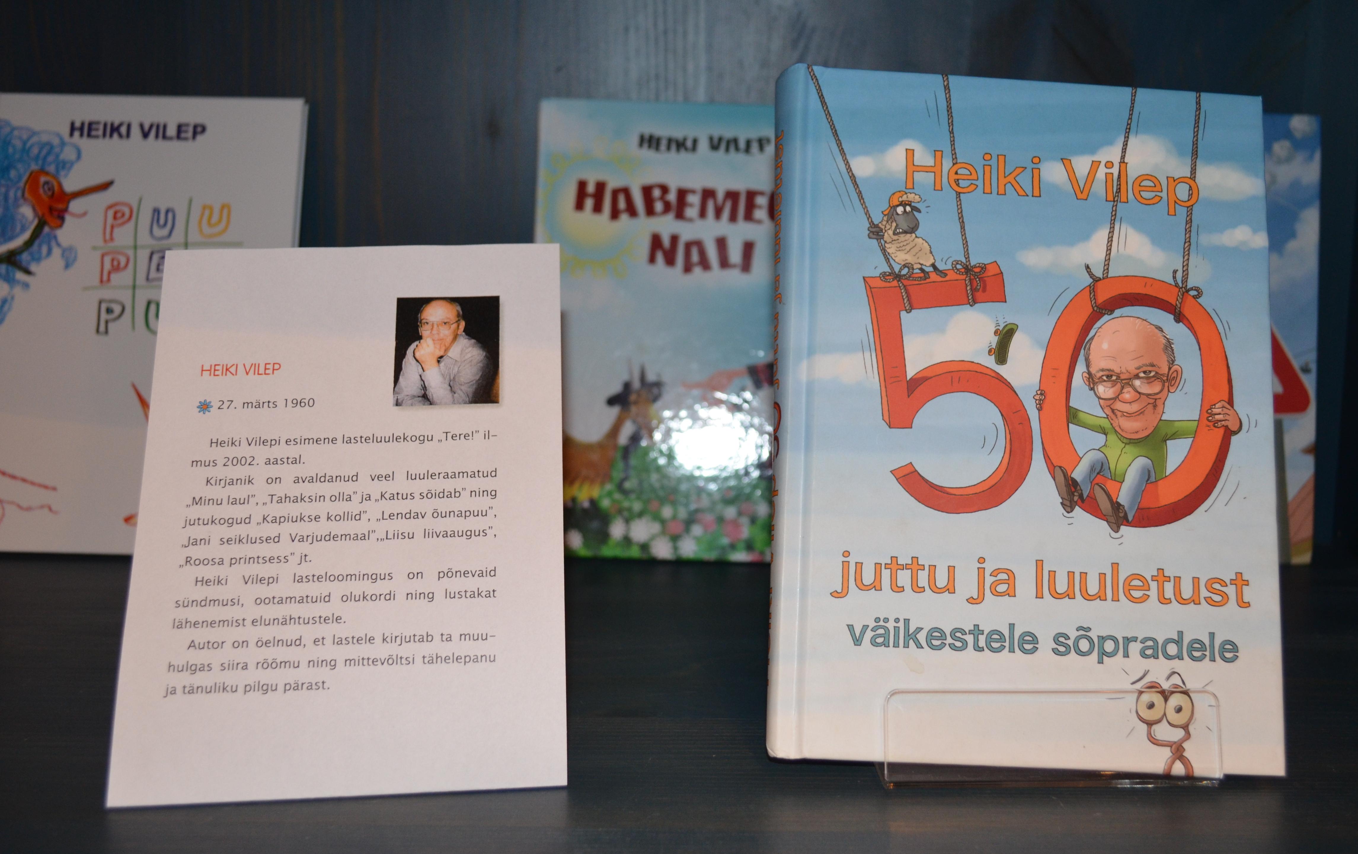 Eesti Lastekirjanduse Keskus tähistab 80. sünnipäeva