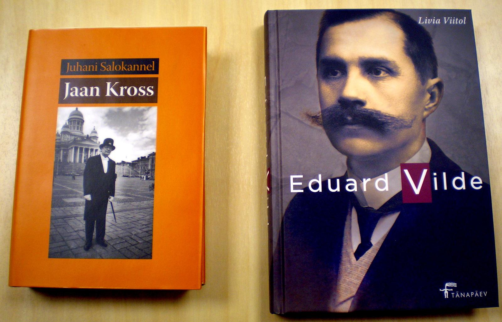 Sajandi kaks Eesti suurkuju. Jaan Kross 95 ja Eduard Vilde 150