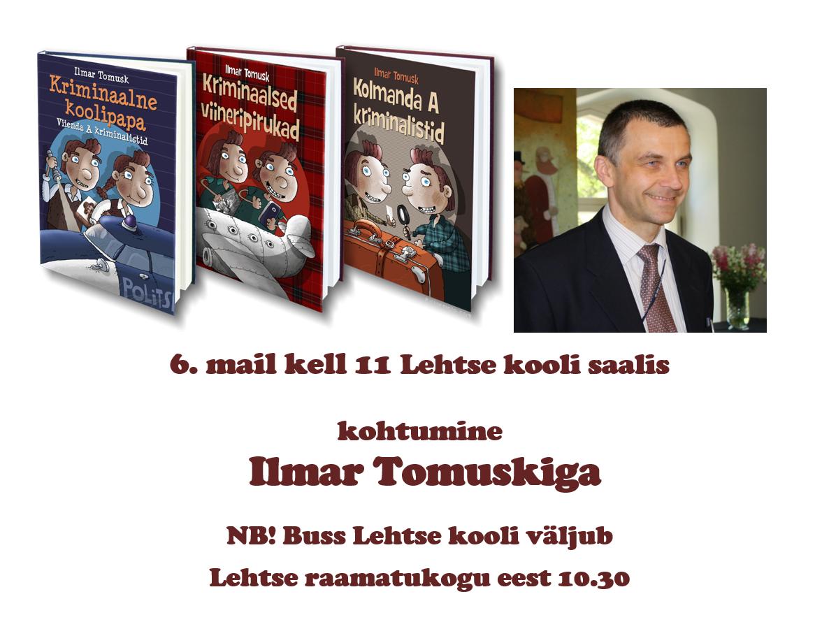 Kohtumine Ilmar Tomuskiga
