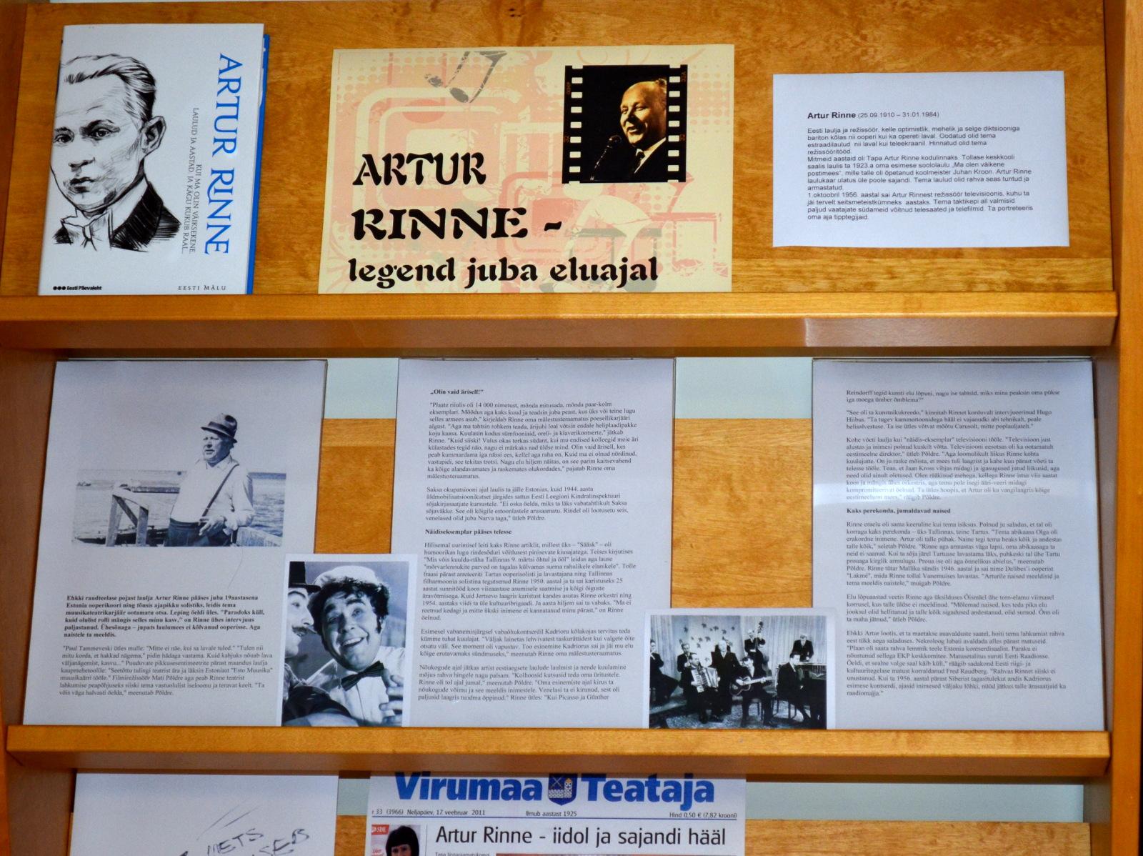 Artur Rinne — legend juba eluajal