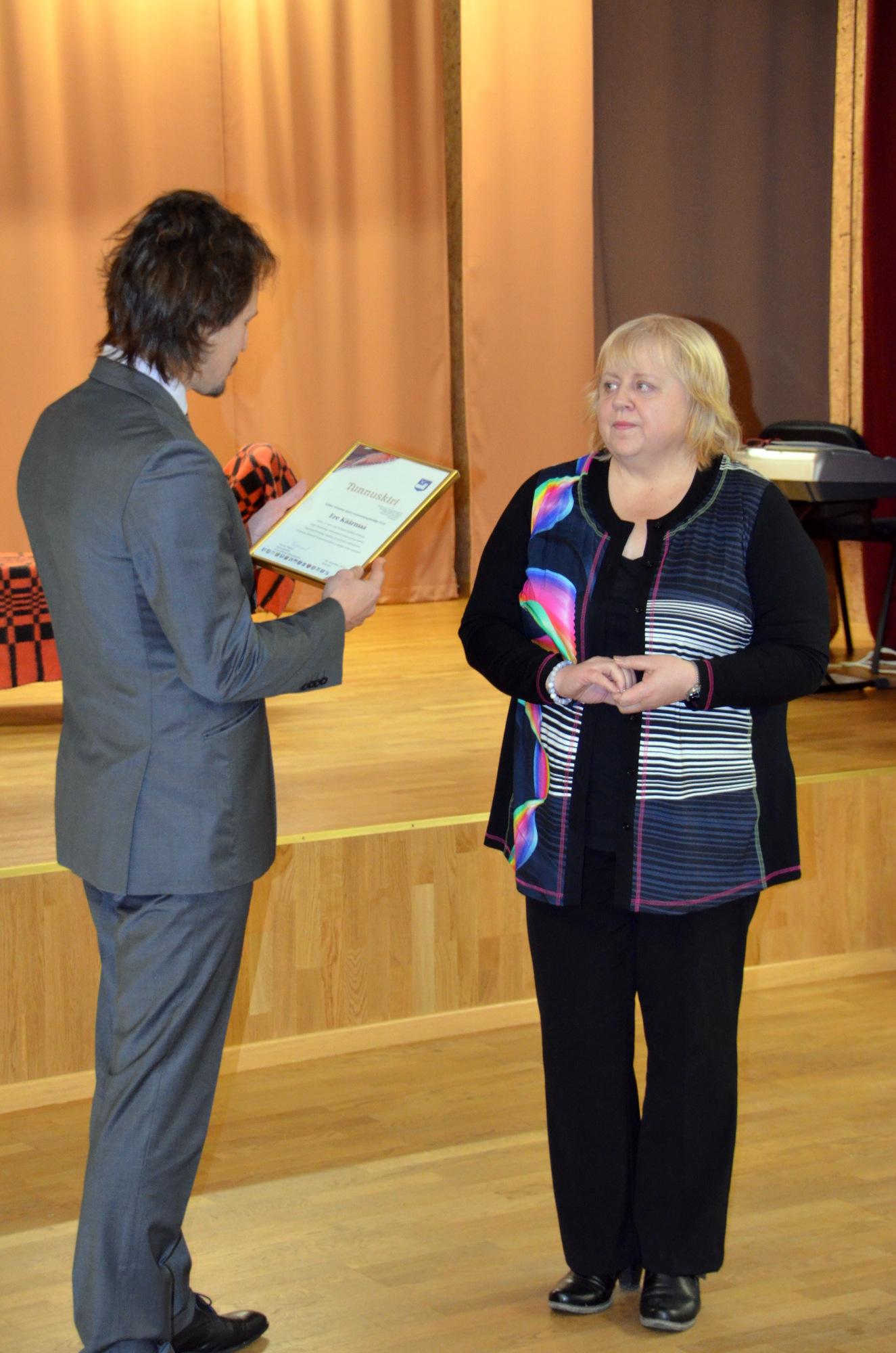 Lääne‐Virumaa aasta raamatukoguhoidja 2016 – Ere Käärmaa