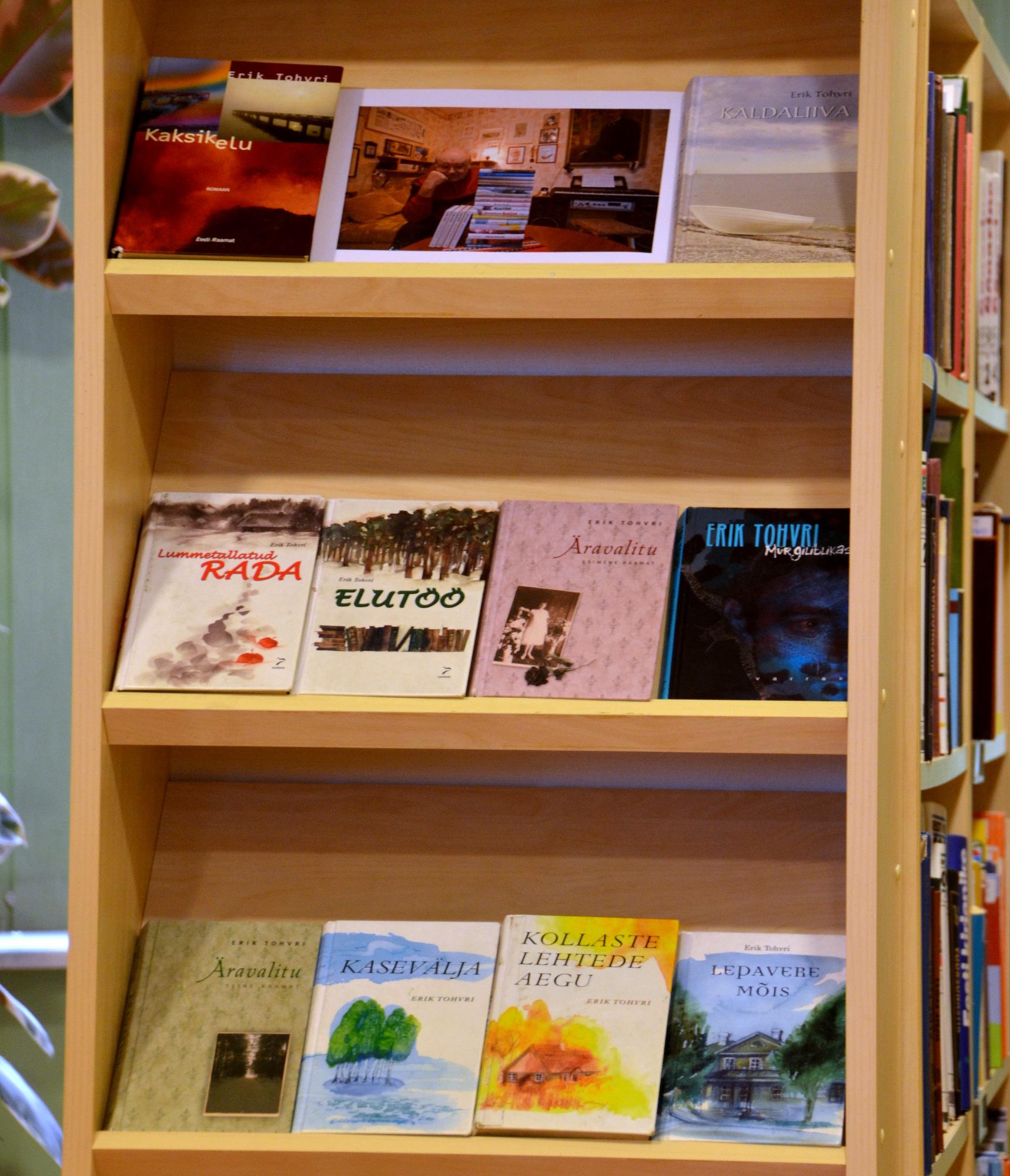 (Eesti) Erik Tohvri — 2016. aasta loetuim kirjanik meie raamatukogus