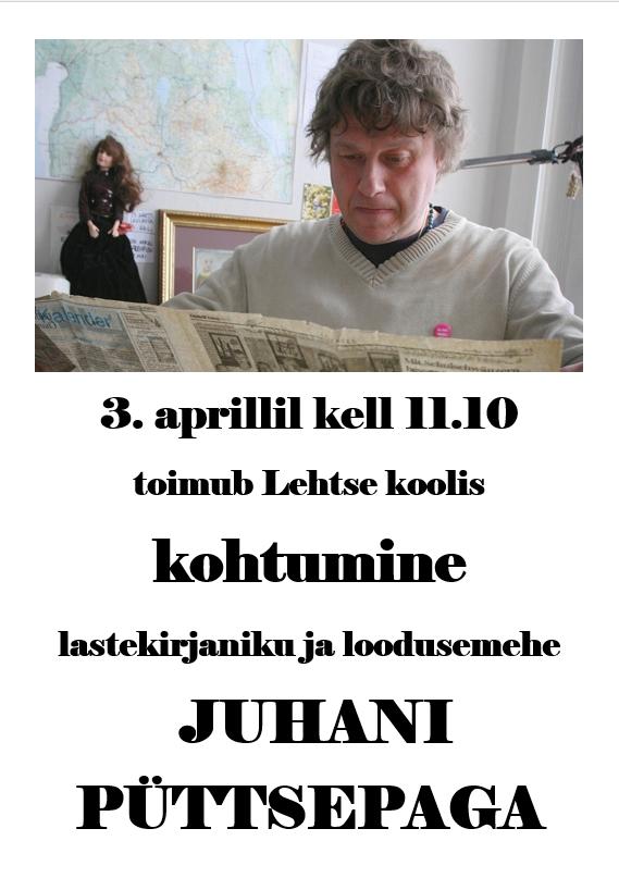 Kohtumine Juhani Püttsepaga