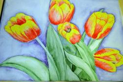 """Näitus """"Lilleline kevad"""""""