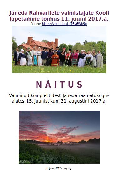 (Eesti) Maa- ja linnarahva moodi