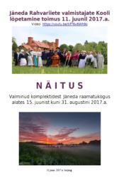 """MTÜ Loometöö suvenäitus """"Maa- ja linnarahva moodi"""""""