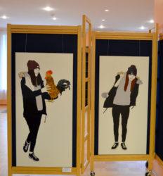 Jõhvi kunstikooli õpilaste loometööde näitus