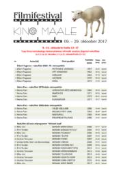 """Filmifestival """"Kino maale"""" - kavas Tapa linnaraamatukogus"""