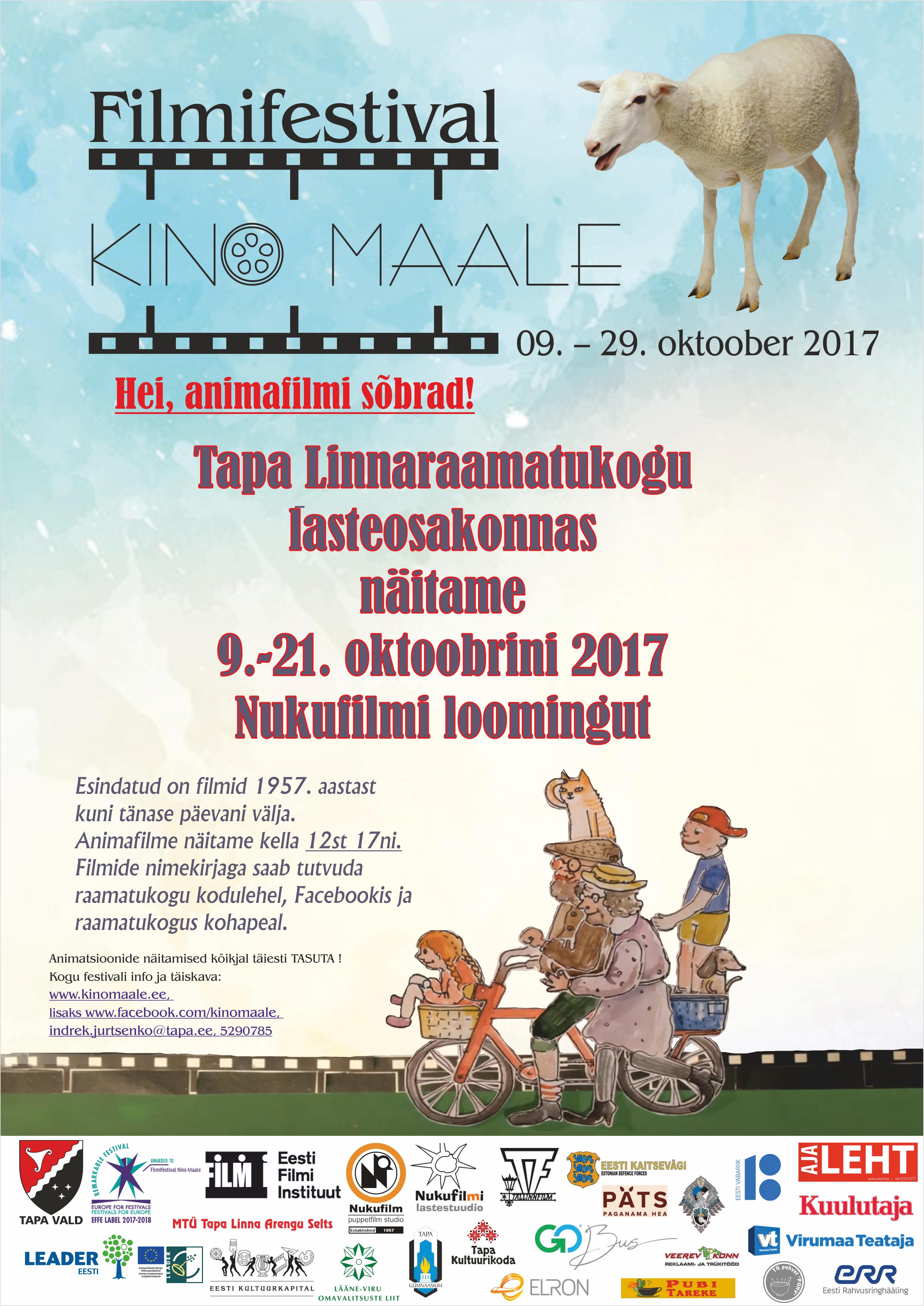 "(Eesti) Filmifestival ""Kino maale"""