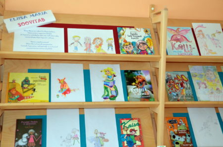 """Raamatuväljapanek """"Eliisa Maria soovitab"""""""