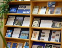 """Raamatunäitus """"SININE JA VALGE. Soome 100"""""""