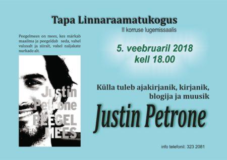 Kohtumine Justin Petrone'ga