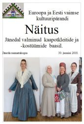 Kaapotkleitide ja -kostüümide näitus