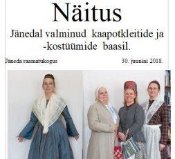 (Eesti) Kaapotkleitide ja -kostüümide näitus