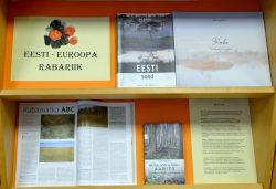 """Raamatuväljapanek""""Eesti - Euroopa rabariik"""""""