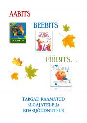 """Raamatuväljapanek """"Aabits, beebits, füübits - targad raamatud algajatele ja edasijõudnutele"""""""