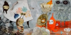 """Näitus """"Glenda Sburelini raamatuillustratsioonid"""""""