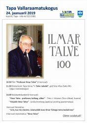 Ilmar Talve 100 - plakat