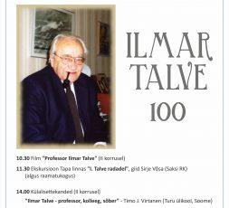 Ilmar Talve 100