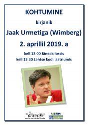 Kohtumine kirjanik Jaak Urmetiga (Wimberg)