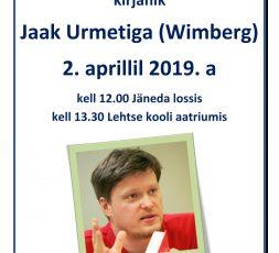 (Eesti) Kohtumine kirjanik Jaak Urmetiga