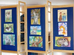 Tapa Muusika- ja Kunstikooli õpilastööde näitus