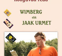 (Eesti) Sirgjoonelise luulerokkari hõõguvad read. Wimberg ehk Jaak Urmet