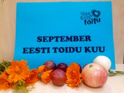 """Väljapanek """"September - eesti toidu kuu"""""""