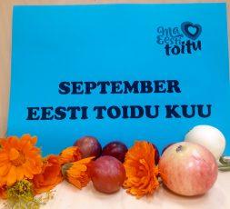 (Eesti) September — eesti toidu kuu