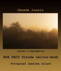 Plakat - Jaanika Jalasti fotonäitus