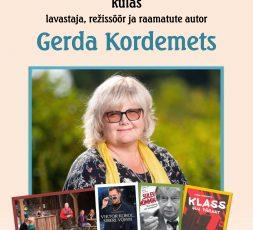 (Eesti) Kohtumisõhtu Gerda Kordemetsaga