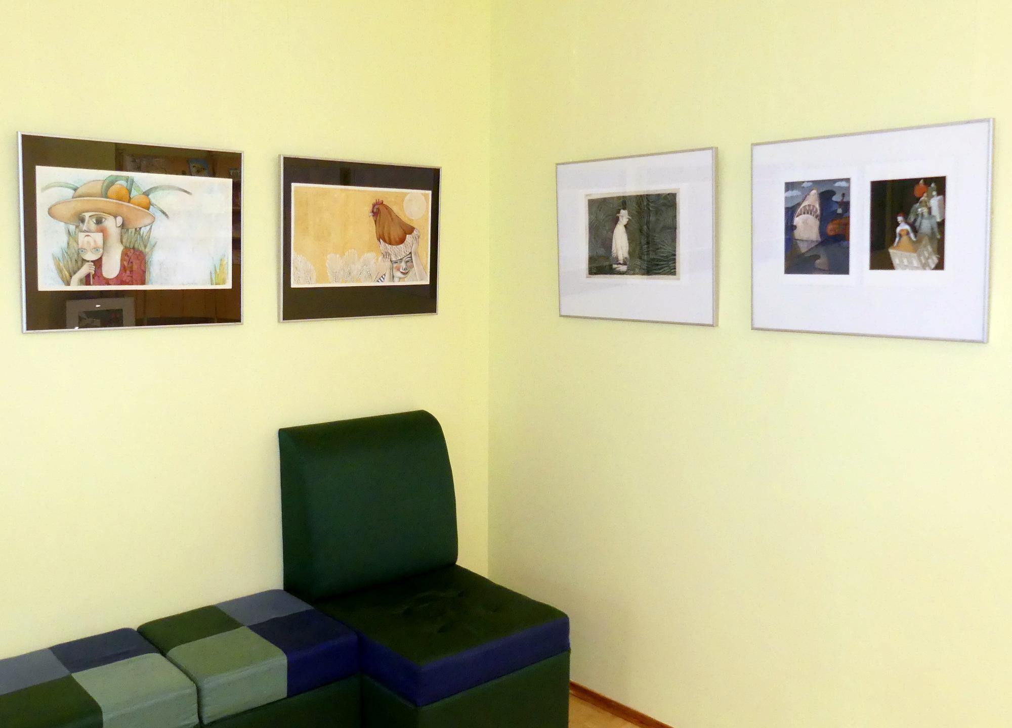 Anna Forlati illustratsioonide näitus