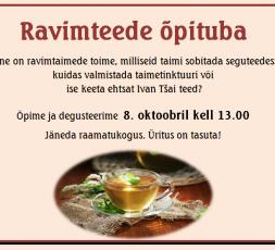(Eesti) Ravimteede õpituba