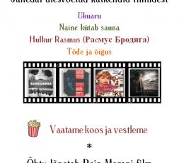 (Eesti) Filmiõhtu Jäneda raamatukogus