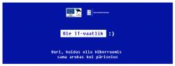 """IT-vaatlik"" poster"