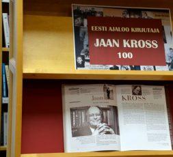(Eesti) Eesti ajaloo kirjutaja Jaan Kross 100