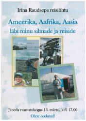 """Jäneda raamatukogus """"Irina Raudsepa reisiõhtu"""""""