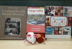 """Tamsalu raamatukogus raamatuväljapanek """"Roheline mõtteviis - anna asjadele uus elu"""""""