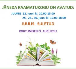 (Eesti) Jäneda raamatukogu suvel