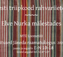 (Eesti) Eesti triipkood rahvariietes