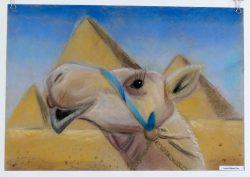 """Tapa Muusika- ja Kunstikooli õpilastööde näitus """"Egiptus"""""""