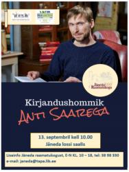 Kirjandushommik Anti Saarega